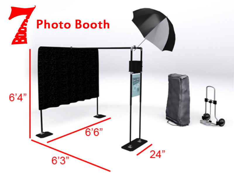 Photo Booth Setup Dimensions